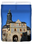 Castle Church Weimar Duvet Cover