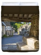 Castle Combe - View Duvet Cover