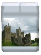 Castle Curtain Wall Duvet Cover