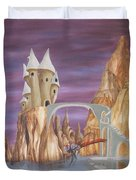 Castle Dragonfly Duvet Cover