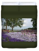Castle Garden Schwerin - Germany Duvet Cover