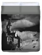 Castle In The Sky Duvet Cover by Bob Orsillo