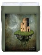 Castle In The Sky Duvet Cover by Juli Scalzi