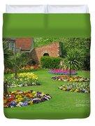 Castle Park Gardens  Duvet Cover