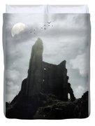 Castle Ruin Duvet Cover