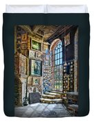 Castle Saloon Duvet Cover