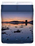 Loch Laich And Castle Stalker Duvet Cover
