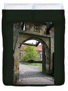 Castle Vischering Archway Duvet Cover