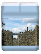 Castle Wall Walk Duvet Cover