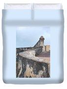 Castle Walls 2 Duvet Cover