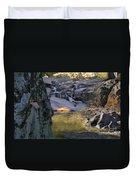 Castor River Shut-ins Duvet Cover