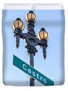 Castro Lightpole Duvet Cover