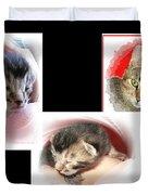 Cat Family Duvet Cover