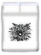 Cat Iwan Duvet Cover