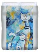 Cat Mommy Duvet Cover