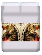 Cat Nap With Elmo Duvet Cover