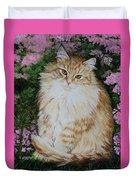Kitten Cat Painting Perfect For Child's Room Art Duvet Cover