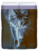 Cat Walking Duvet Cover