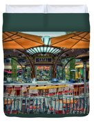 Catal Outdoor Cafe Downtown Disneyland 01 Duvet Cover