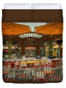 Catal Outdoor Cafe Downtown Disneyland 02 Duvet Cover