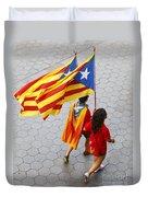 Catalan National Day 2014 Duvet Cover