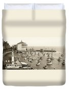 Catalina Island. Avalon Duvet Cover