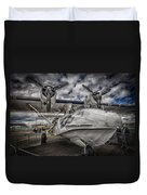 Catalina Pby-5a Miss Pick Up Hdr Duvet Cover