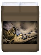 Catalina Pby-5a Miss Pick Up Low Angle Duvet Cover