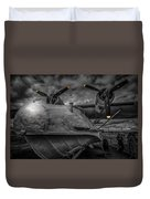 Catalina Pby-5a Miss Pick Up Mono Duvet Cover