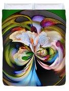Catalpa Orb Duvet Cover