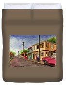 Catano Puerto Rico Street Duvet Cover