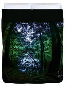 Cataracts Canyon Calm Water Duvet Cover