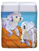 Catch Me     Duvet Cover by Pat Saunders-White