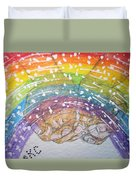 Catching A Rainbbow Duvet Cover