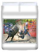 Catching Spur Duvet Cover