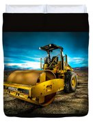 Caterpillar Cat Roller Cs563e Duvet Cover