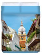 Cathedral And Balconies Duvet Cover