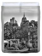 Cathedral And Rsa Duvet Cover