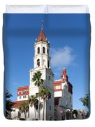 Cathedral Basilica Of St. Augustine Duvet Cover