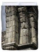 Cathedral Broken Arch At Glendalough Duvet Cover