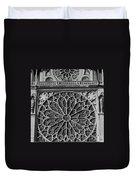 Cathedral De Notre Dame Duvet Cover