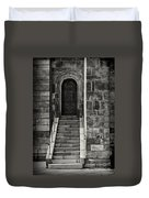 Cathedral Door And Steps Duvet Cover