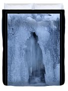 Cathedral Ice Waterfall Duvet Cover