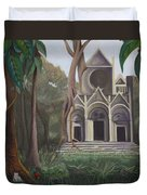 Cathedral In A Jungle Duvet Cover