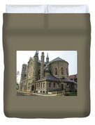 Cathedral In Buffalo Duvet Cover