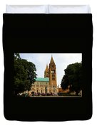 Cathedral In Pecs Duvet Cover