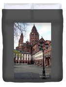 Cathedral - Mainz Duvet Cover