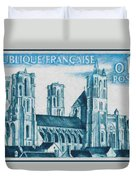 Cathedral Of Laon Duvet Cover
