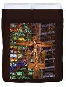 Cathedral Of Rio De Janeiro Duvet Cover