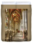 Cathedral Of Saint Helena Duvet Cover